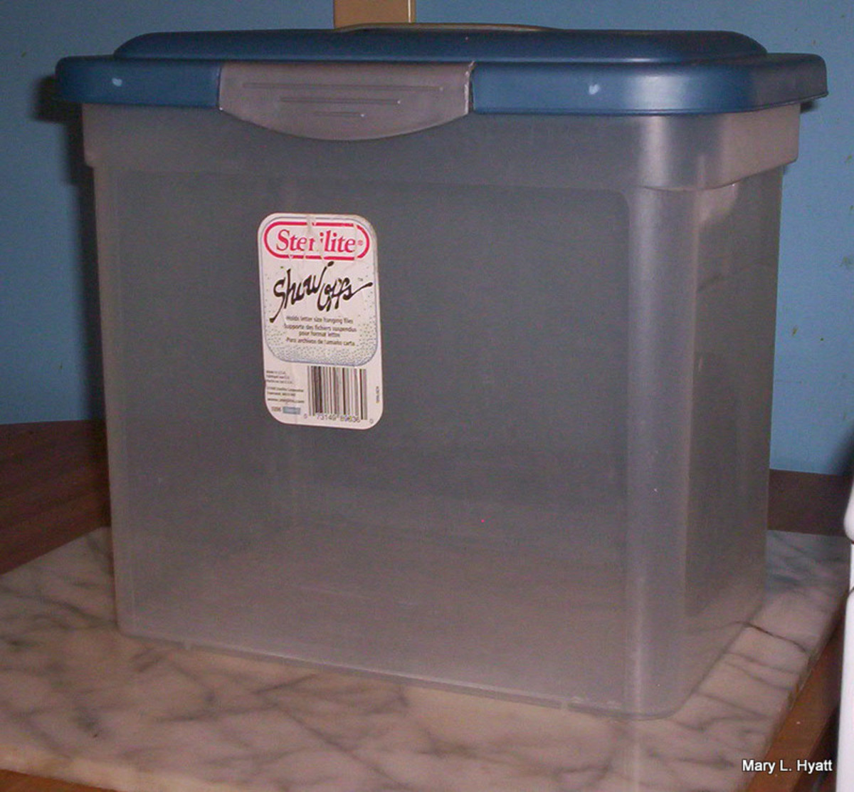 One of the containers with a good fitting lid.