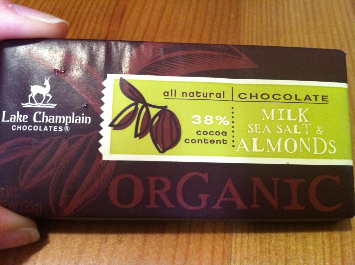 Lake Champlain Organic Milk, Sea Salt & Almonds