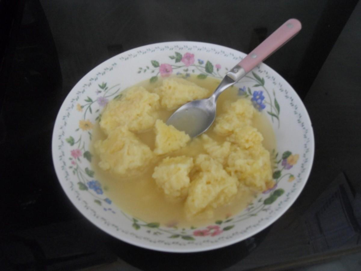 Butter Dumpling Soup