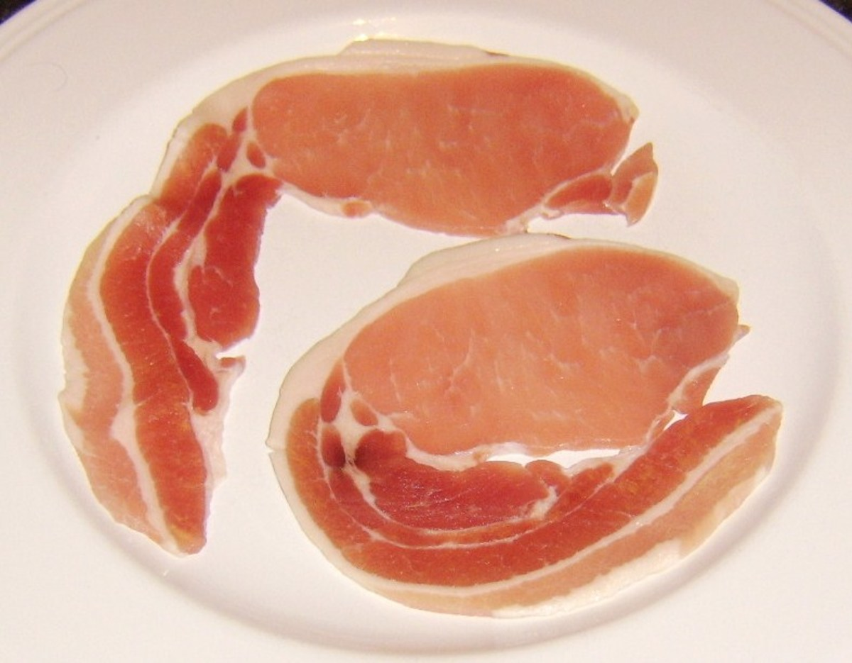 Ayrshire middle bacon