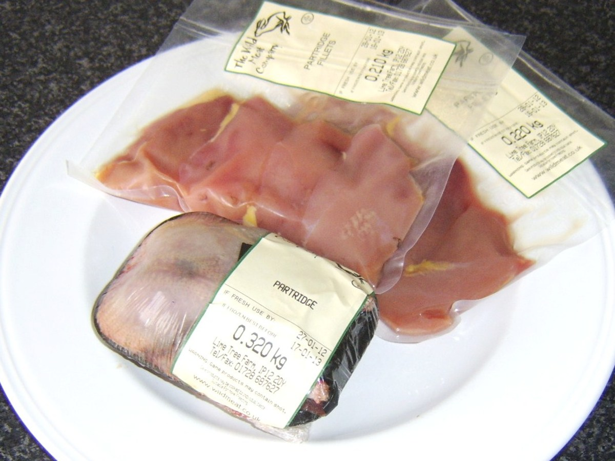 Partridges and vacuum packed partridge breast fillets can be widely purchased via mail order