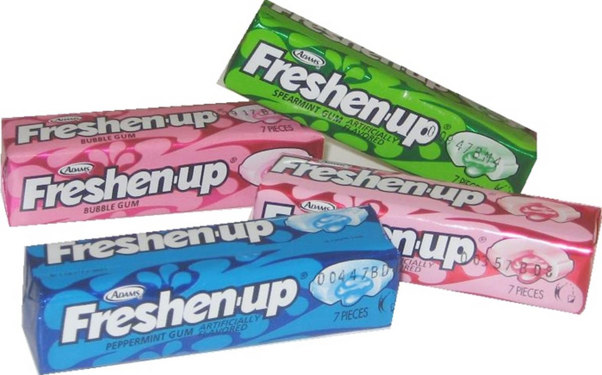 Freshen-Up Gum