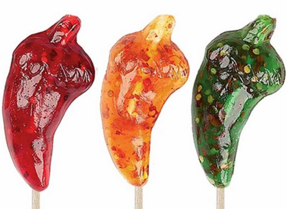 Hot Lix Pepper Suckers