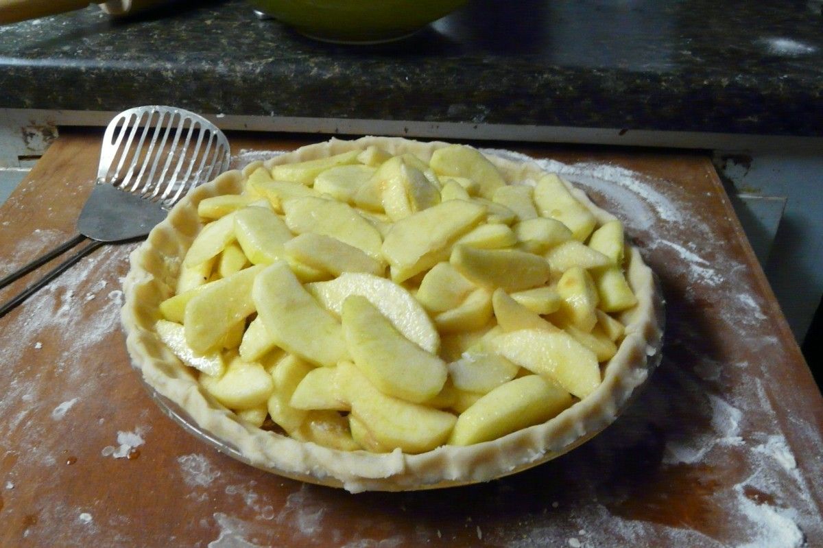 Squish Delish Recipes : Easy, Rustic Apple Pie: From-Scratch Recipe for the Complete Idiot Delishably