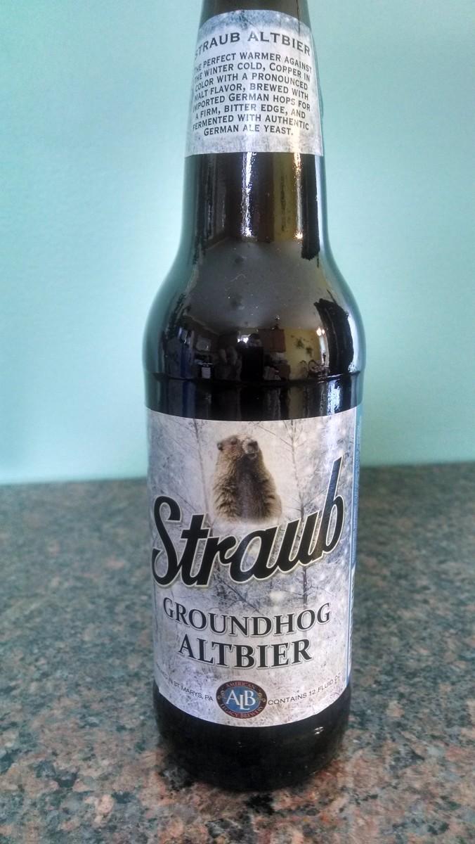 2014 Straub Groundhog Altbier