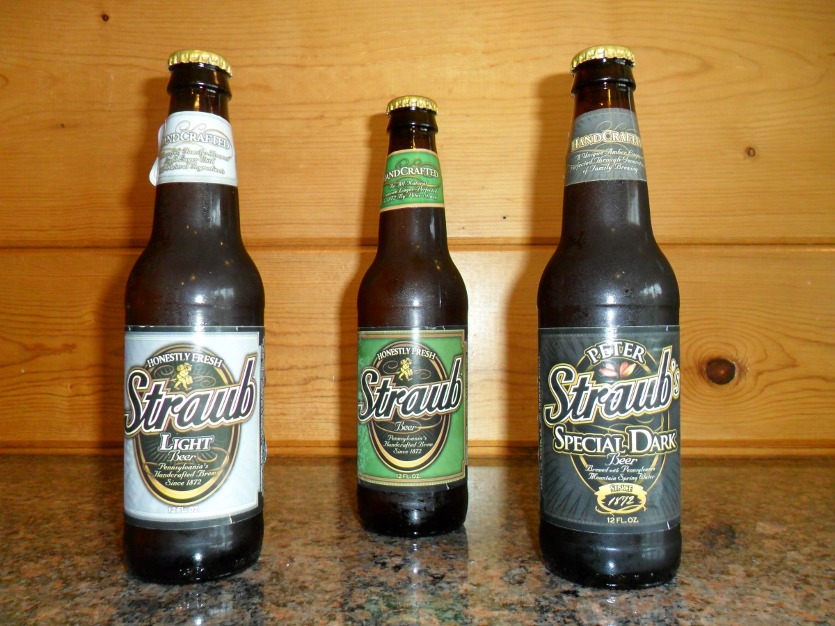 The Straub Beers: Light, Regular, and Special Dark, The Past Labels