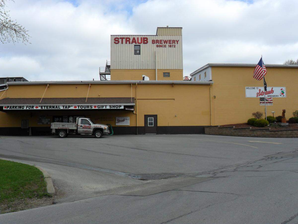 Straub Brewery, Saint Mary's, PA