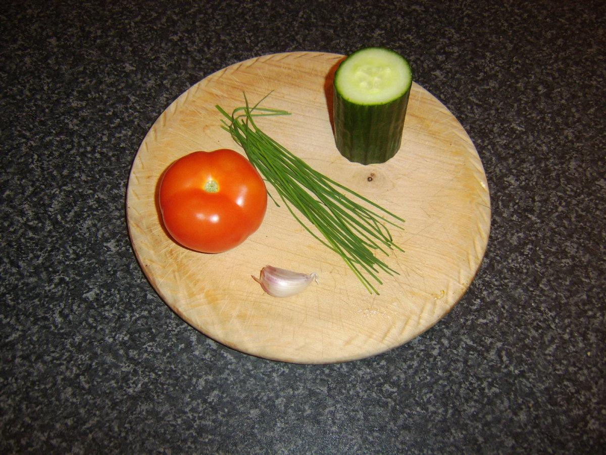 Principal salsa ingredients