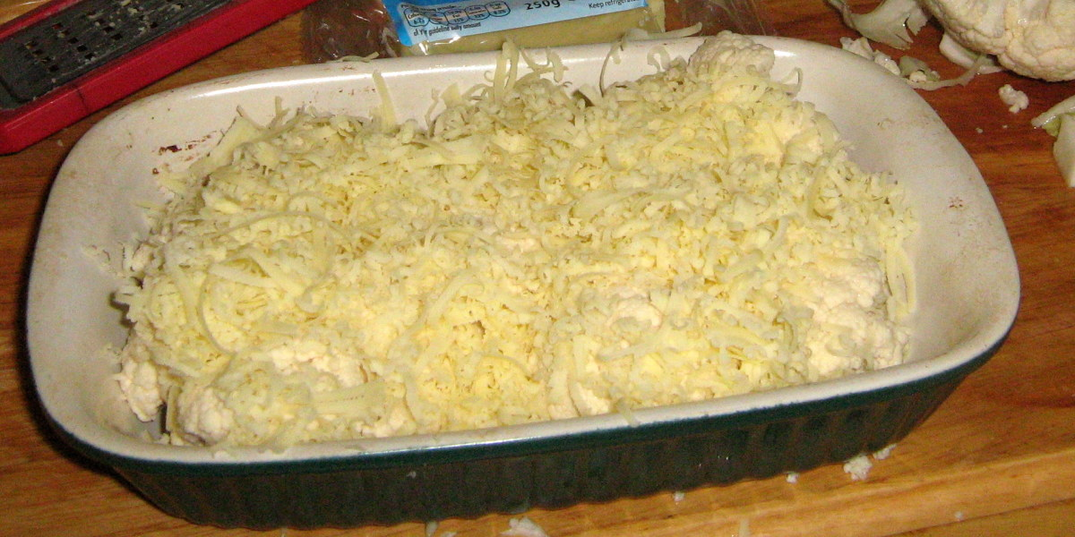 How to make cauliflower cheese