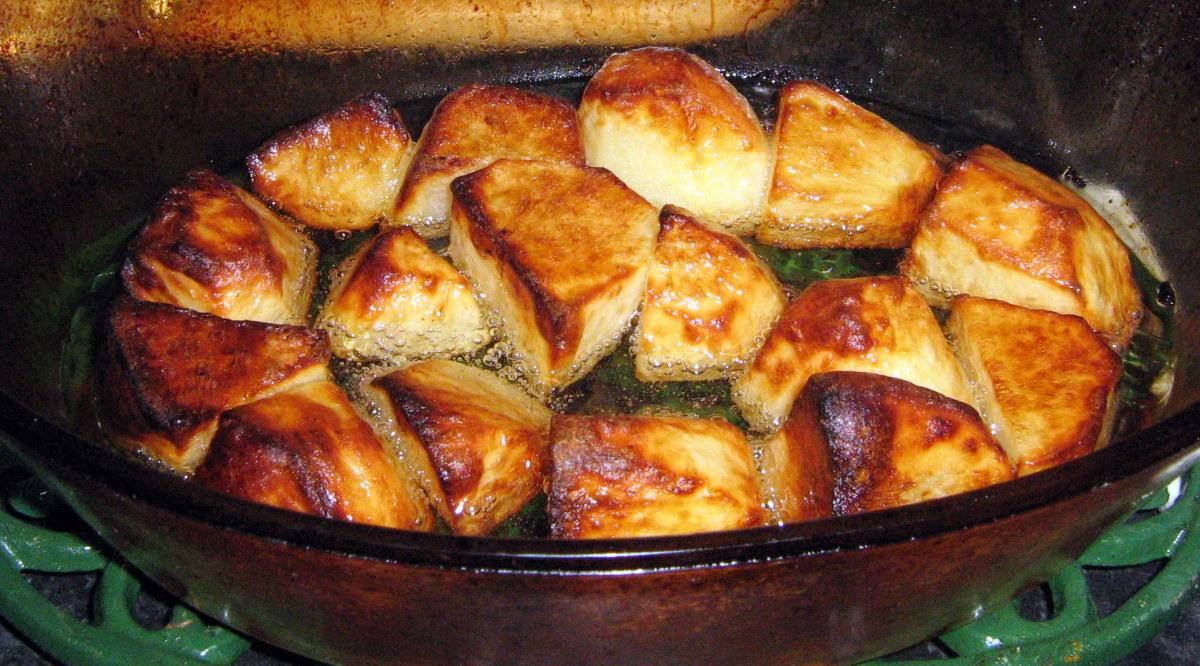 Homemade Roasted Potatoes