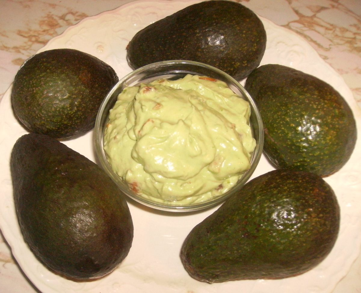 Or buy or make homemade guacamole!
