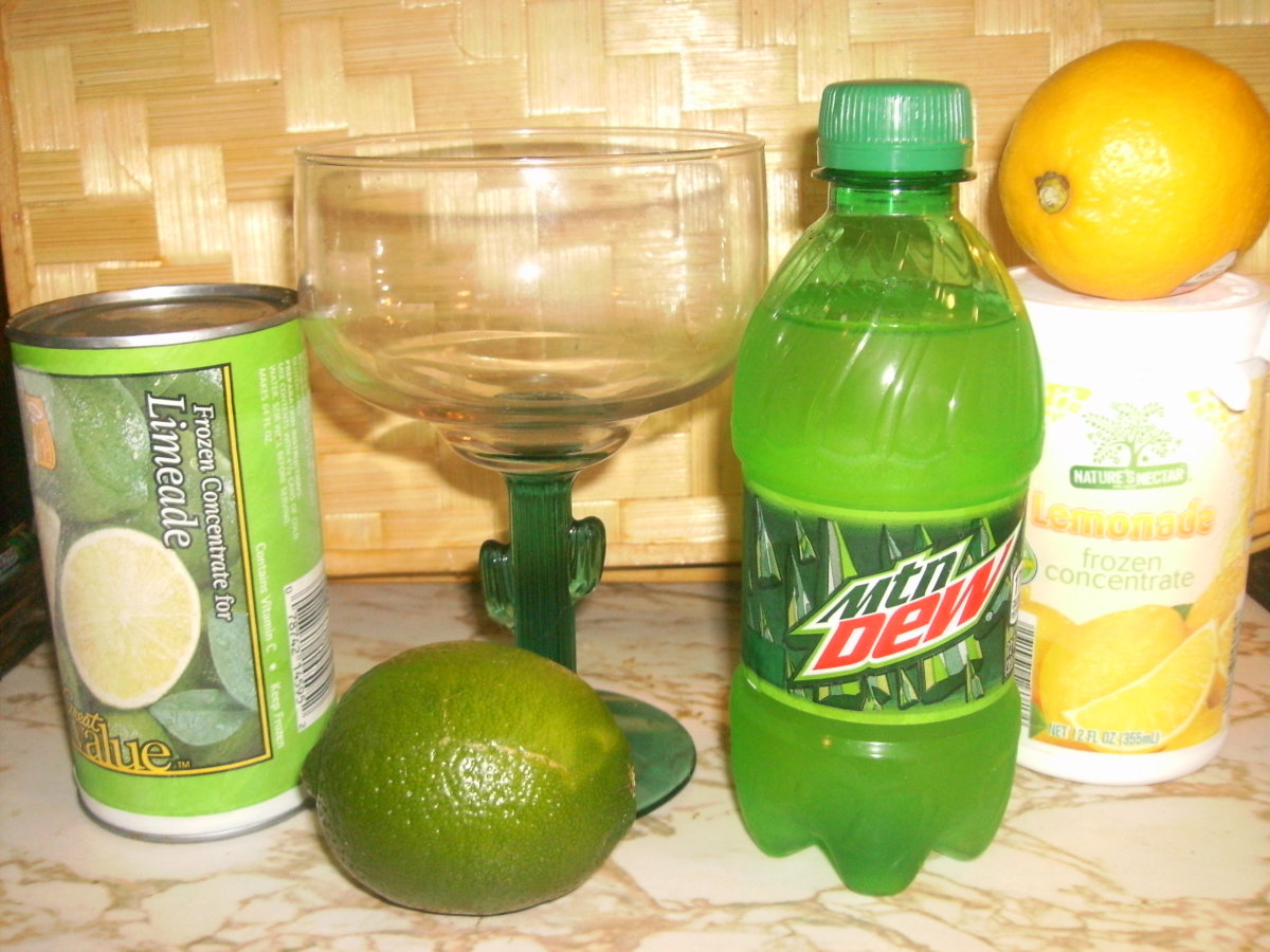Offer green non-alcoholic drinks!