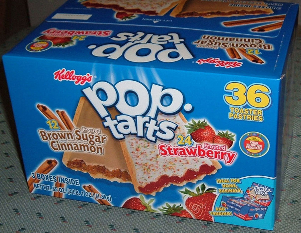 No more processed Pop Tarts for me!