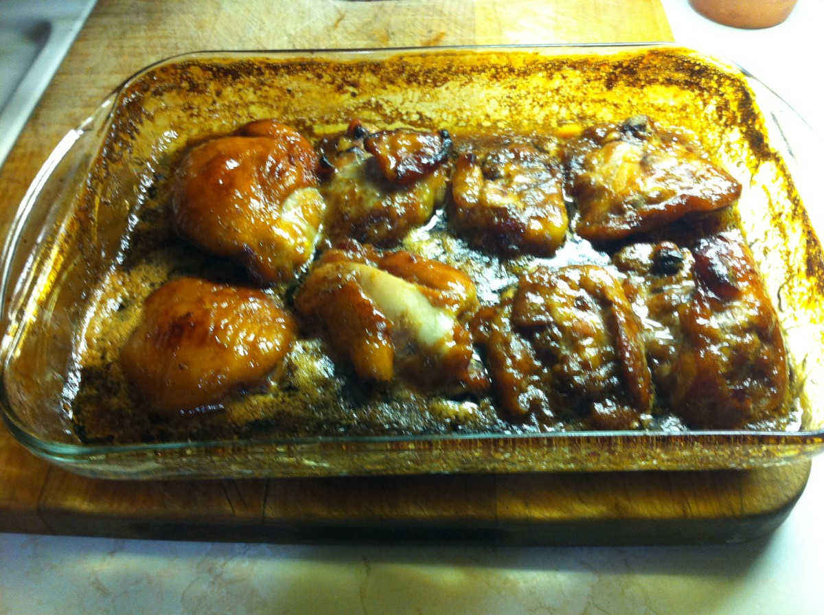 honey-garlic-chicken-made-with-two-ingredients