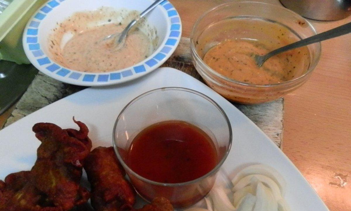pakora sauces