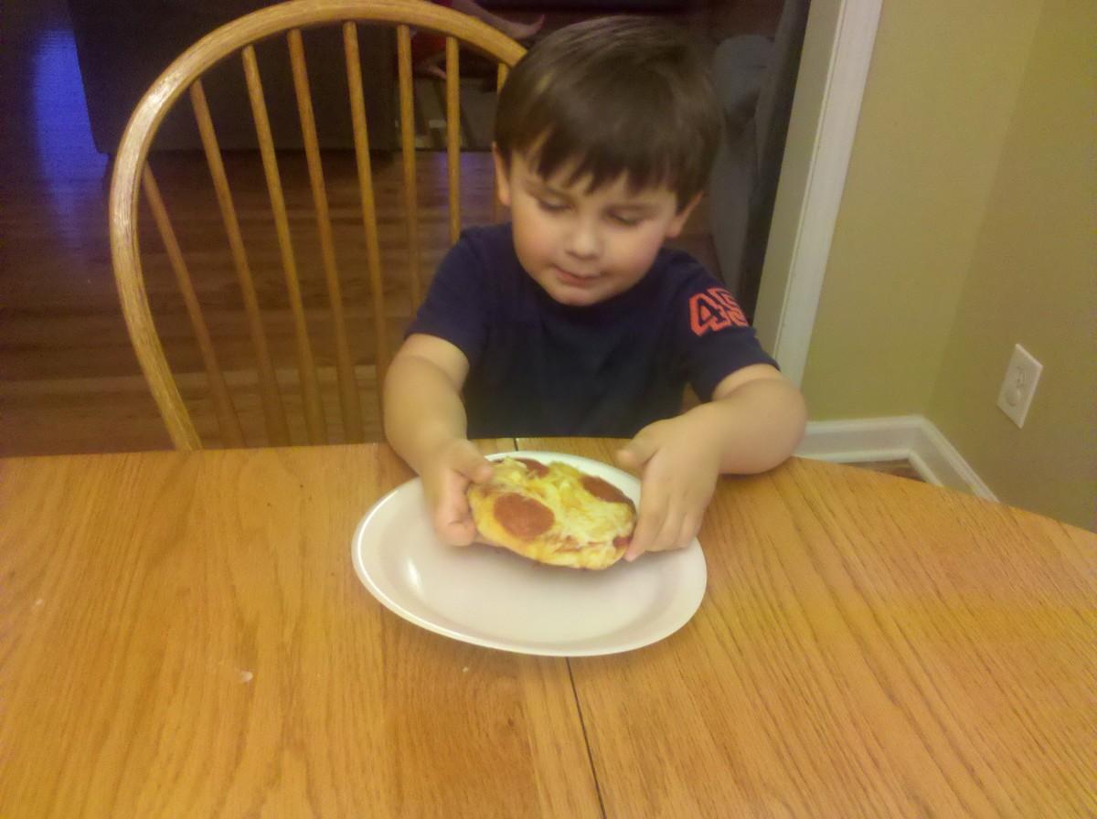 Mmm pizza!