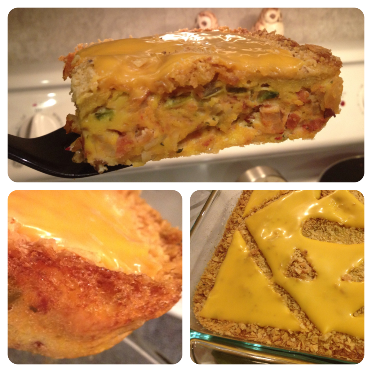 my very first crazy egg pie, although my prototype was thicker and more square