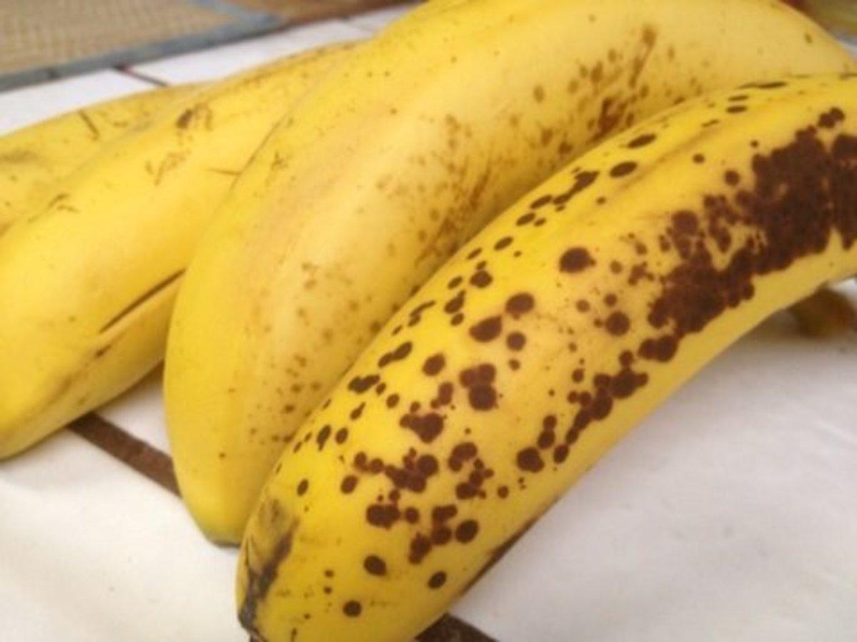 Riper bananas add more flavor.