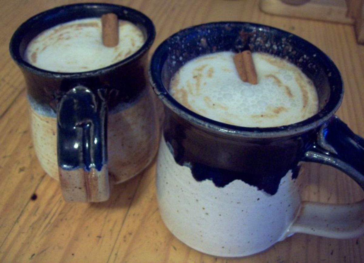 Mexican Hot Chocolate.  Yum!
