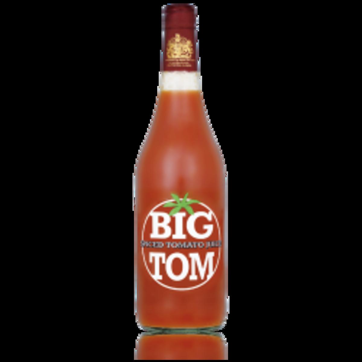 'Big Tom' Tomato juice; a favourite of Queen Elizabeth II