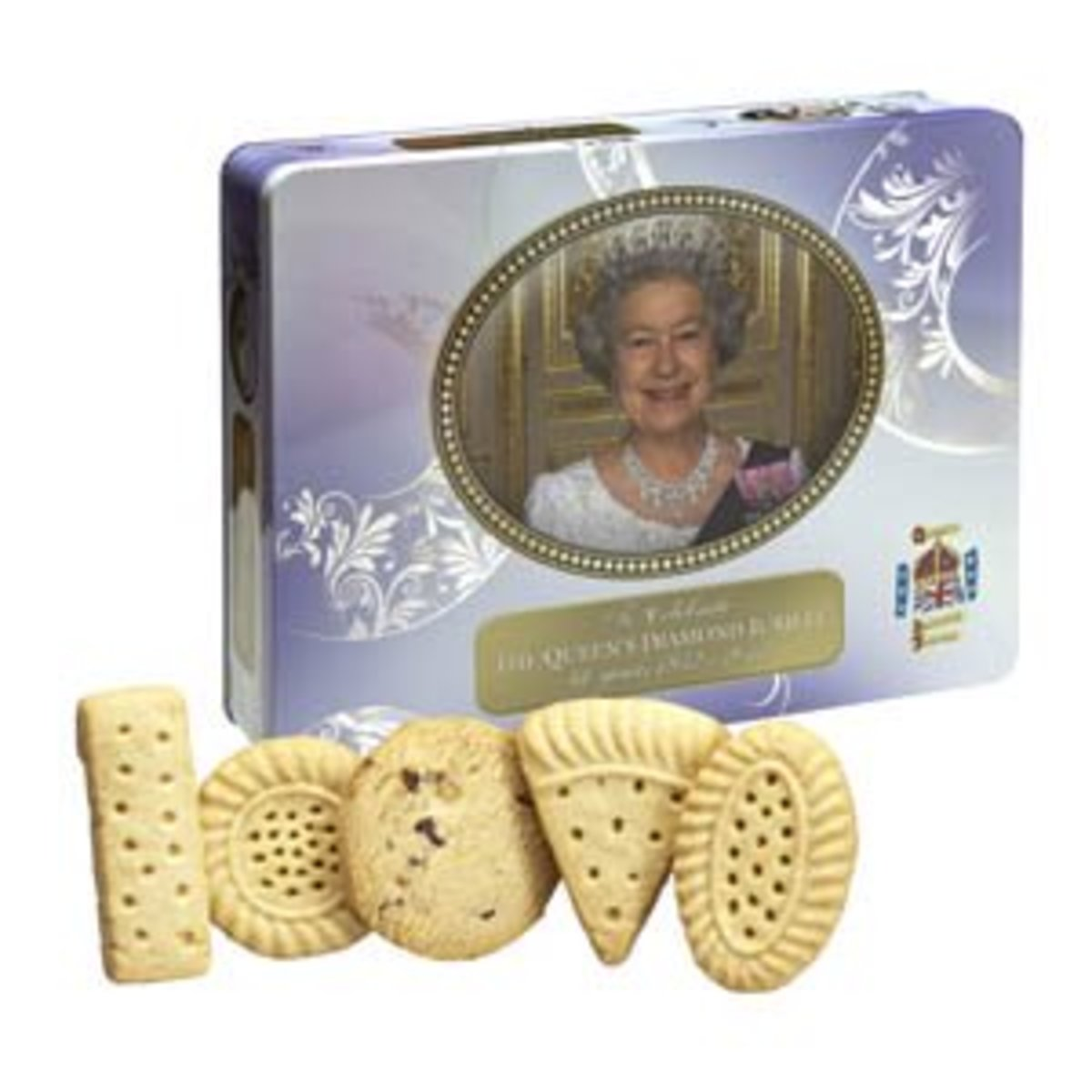 The limited Diamond Jubilee edition shortbread collection made by Walkers