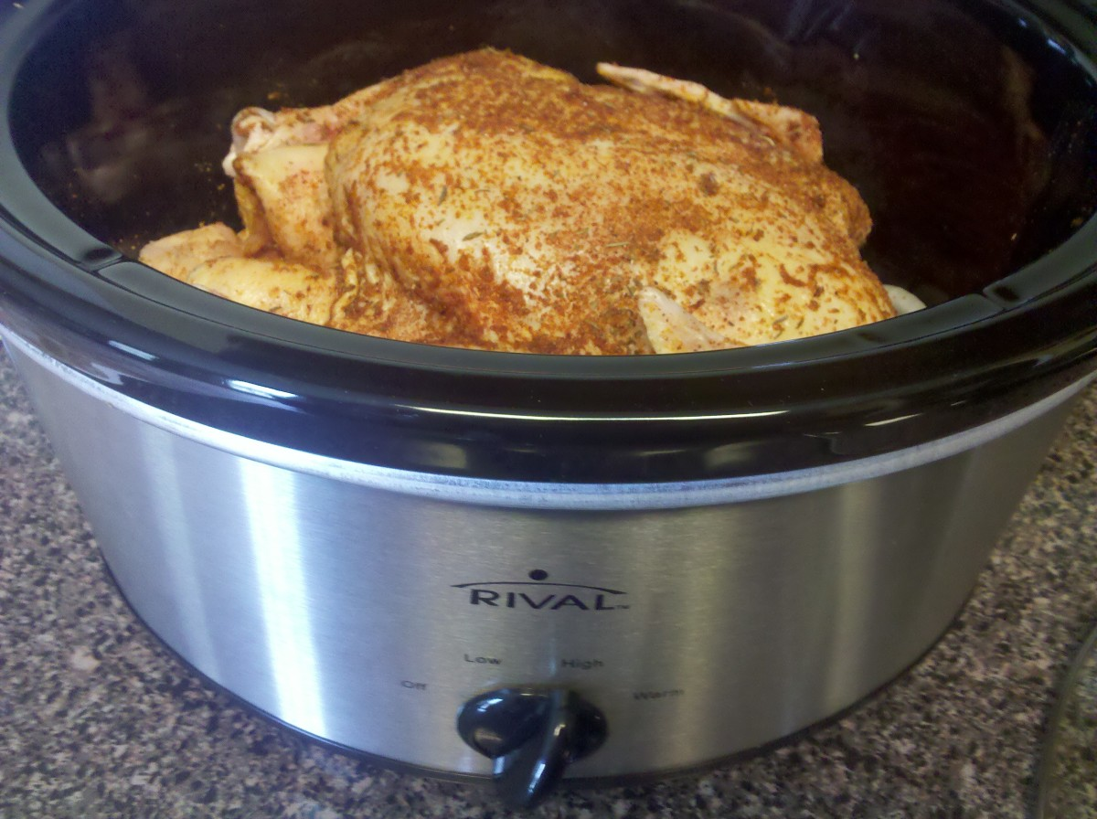 Cook on high setting for 4-5 hours or on low setting for 8-10 hours.