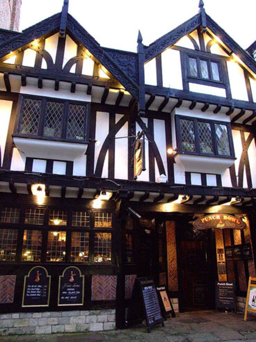 The Punch Bowl Pub in York
