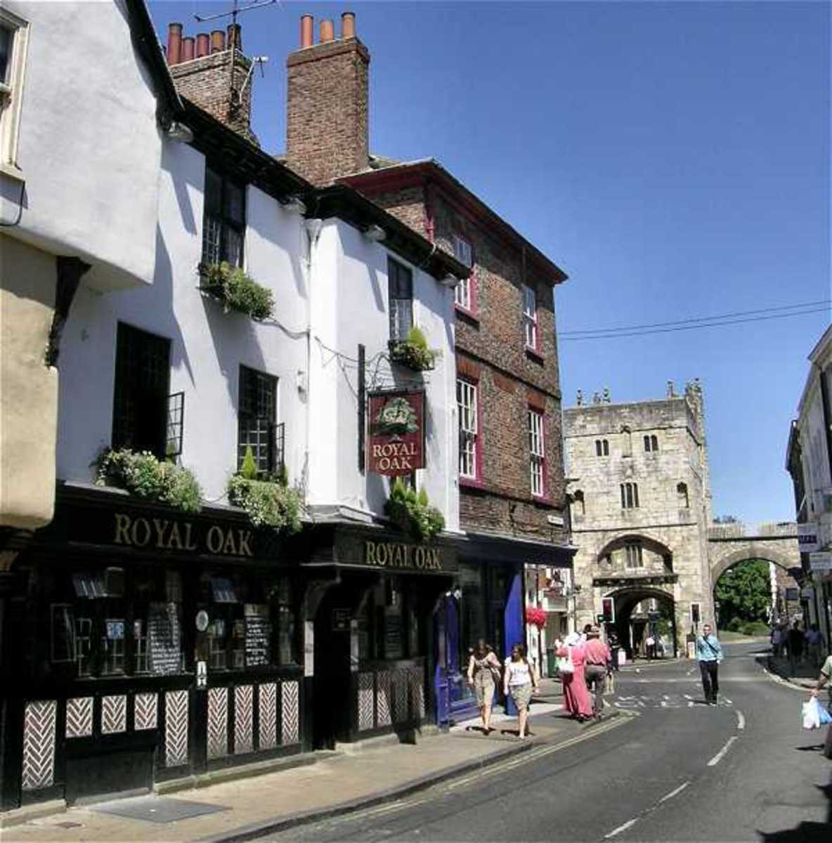 The Royal Oak Pub in York