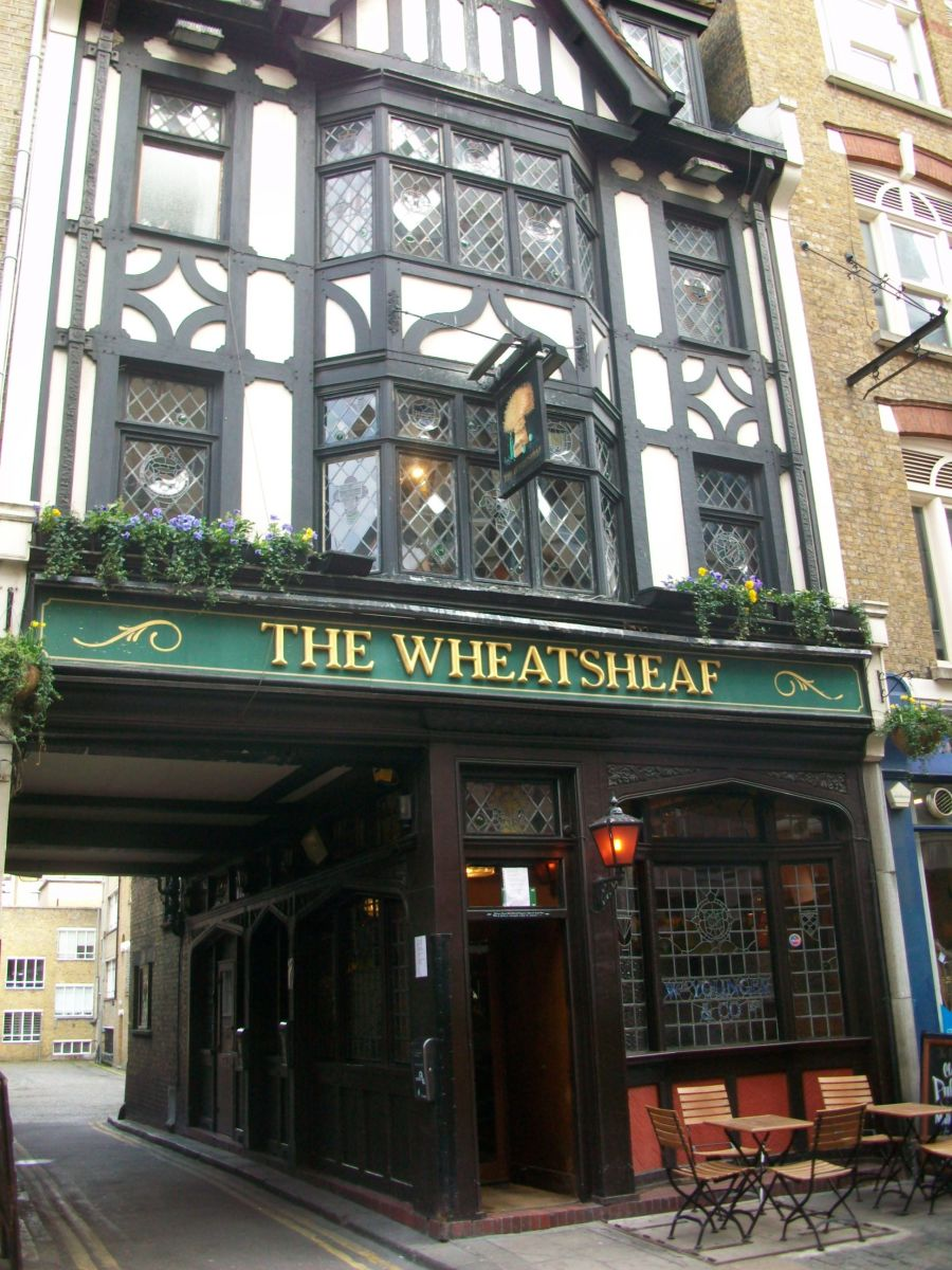 Exterior of the Wheatsheaf