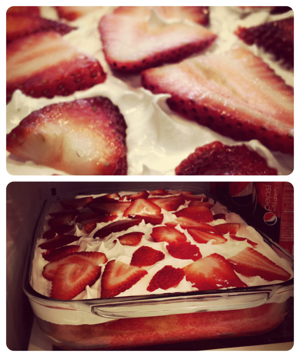 Cold Cake Dessert