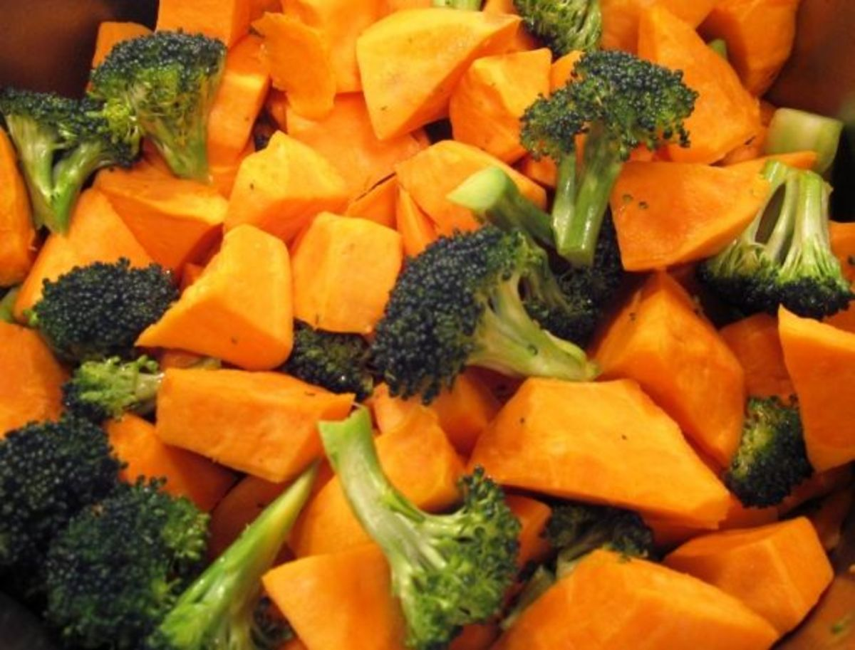 Broccoli & Sweet Potatoes