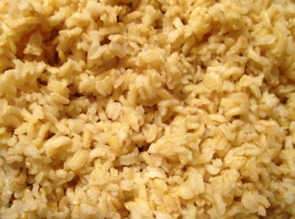 Prepare the rice before the main dish is done.