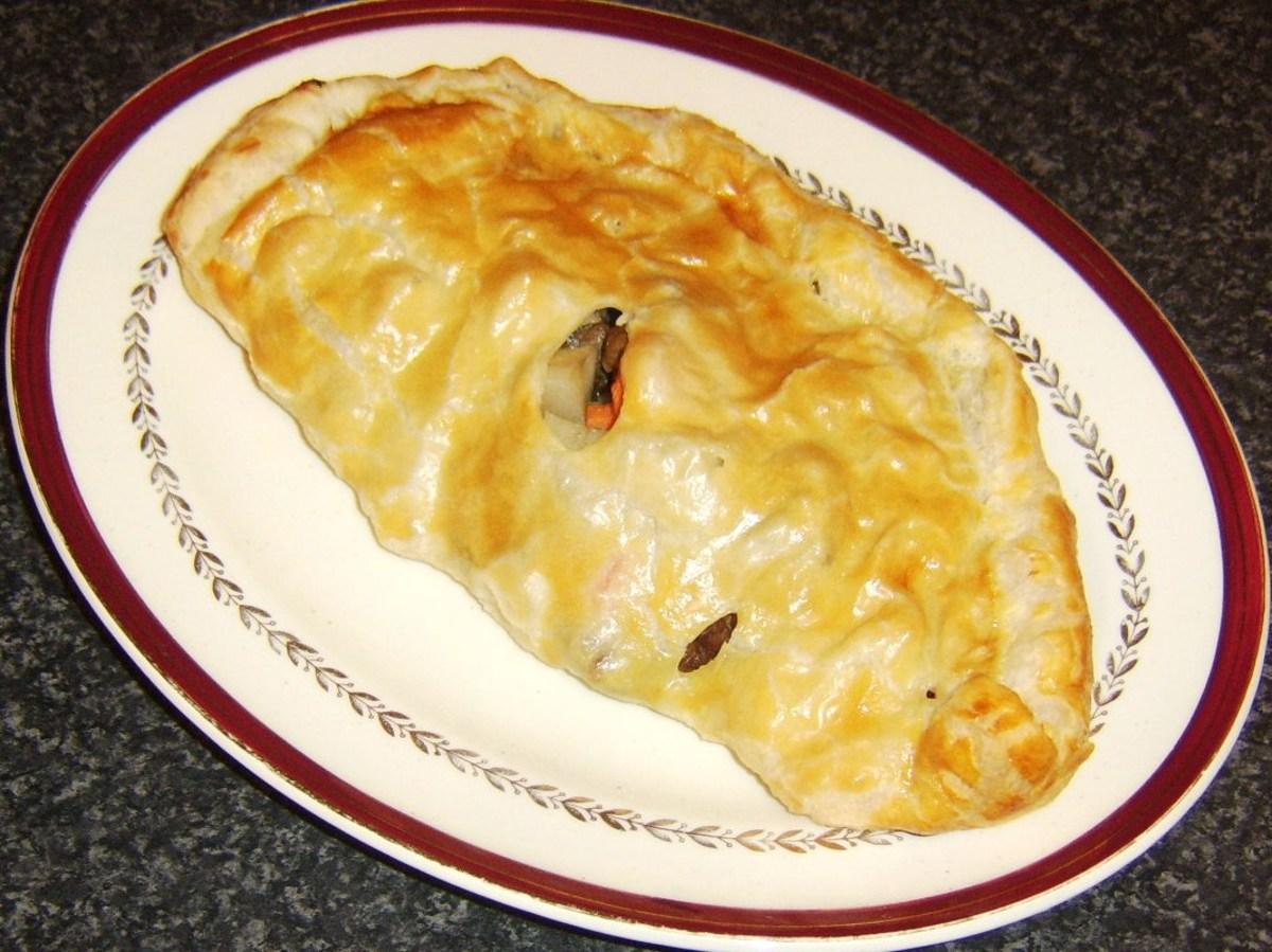 Irish Stew pasty