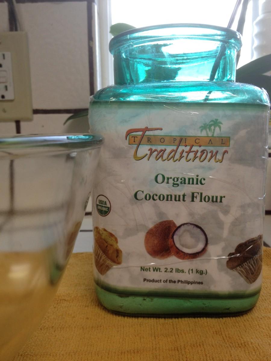 My favorite gluten-free flour is coconut flour!