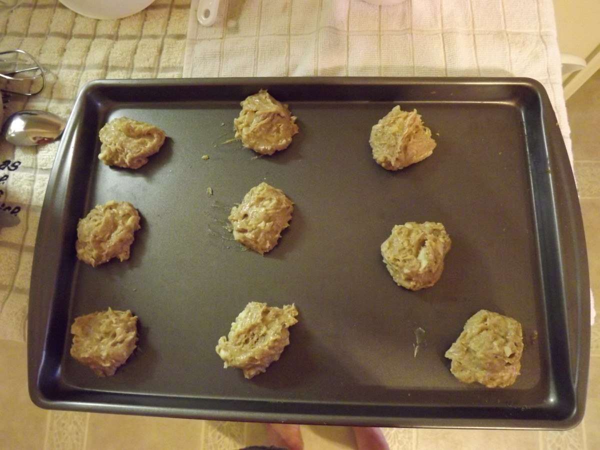 Cookies ready for the oven:)