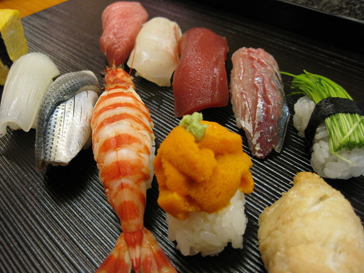 High Quality Nigiri Sushi