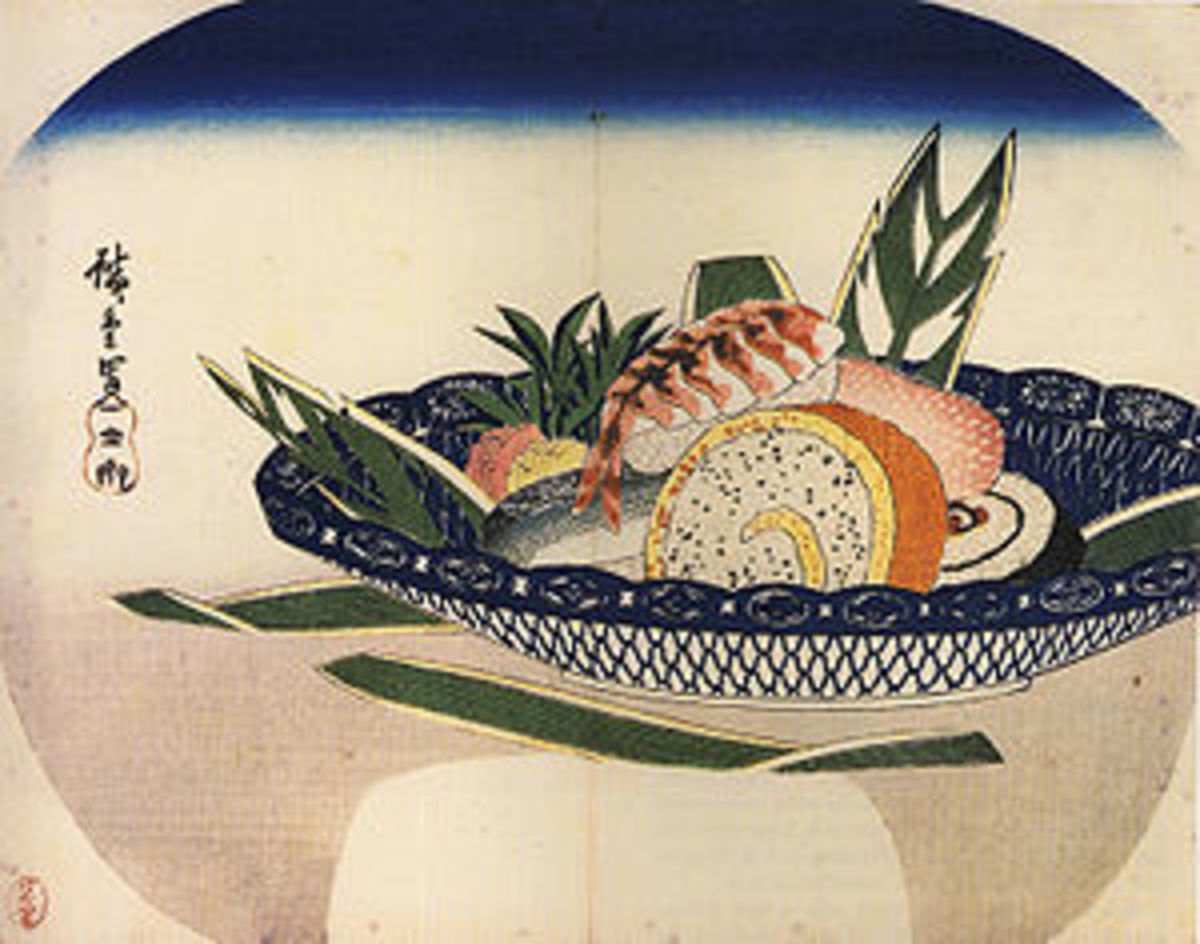 A Bowl Of Sushi in the early 1800's