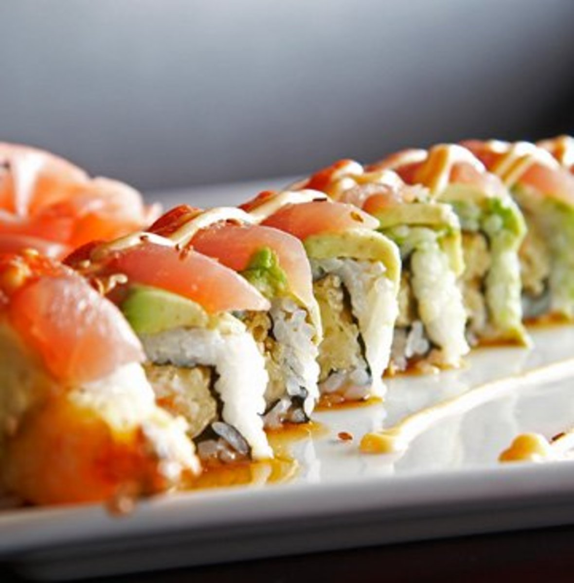 Longhorn Roll from Rock & Roll Sushi