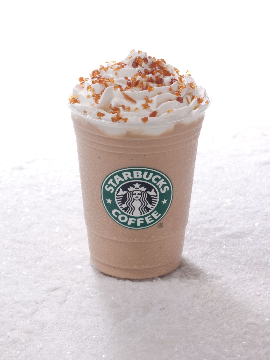 The unfortunately seasonal Caramel Brulee Frappuccino.