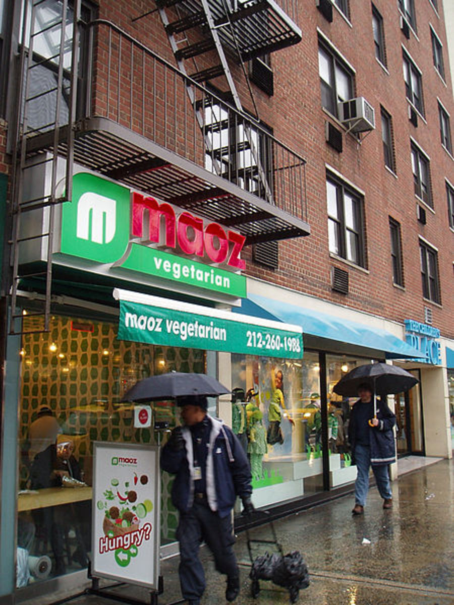 Maoz Vegetarian in New York