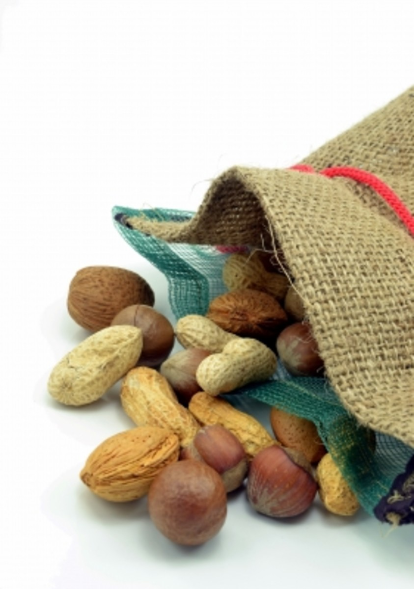 A variety of nuts are a rich source of protein. Enjoy them in your salads, granola or as a simple snack.