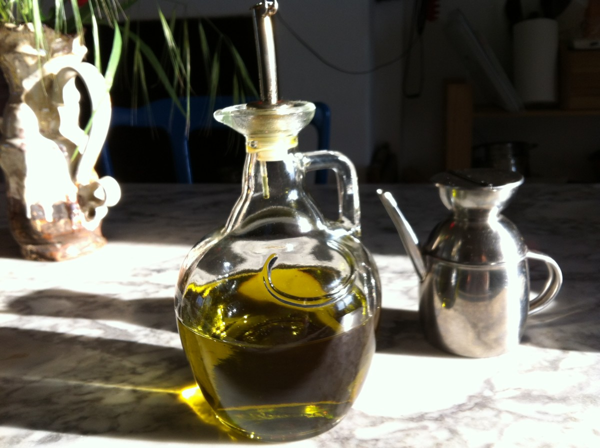 Home Produced Italian Extra Virgin Olive Oil