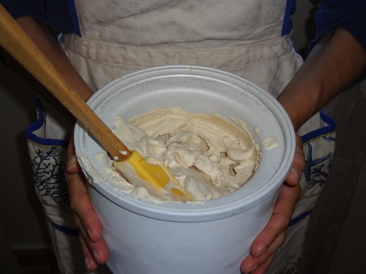 I scream. You scream. We all scream for horchata ice cream!