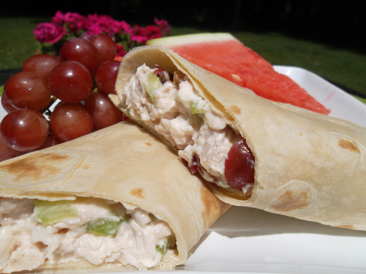 An easy and tasty chicken salad recipe that is perfect for a light summer dinner