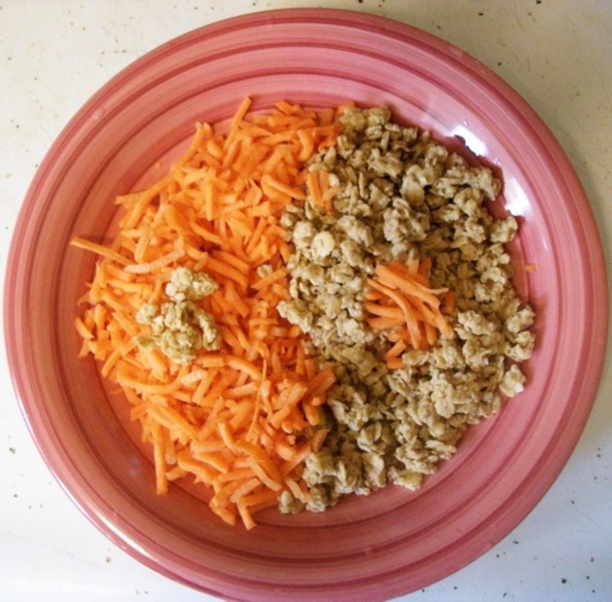 Star Ingredients: Carrot & Granola