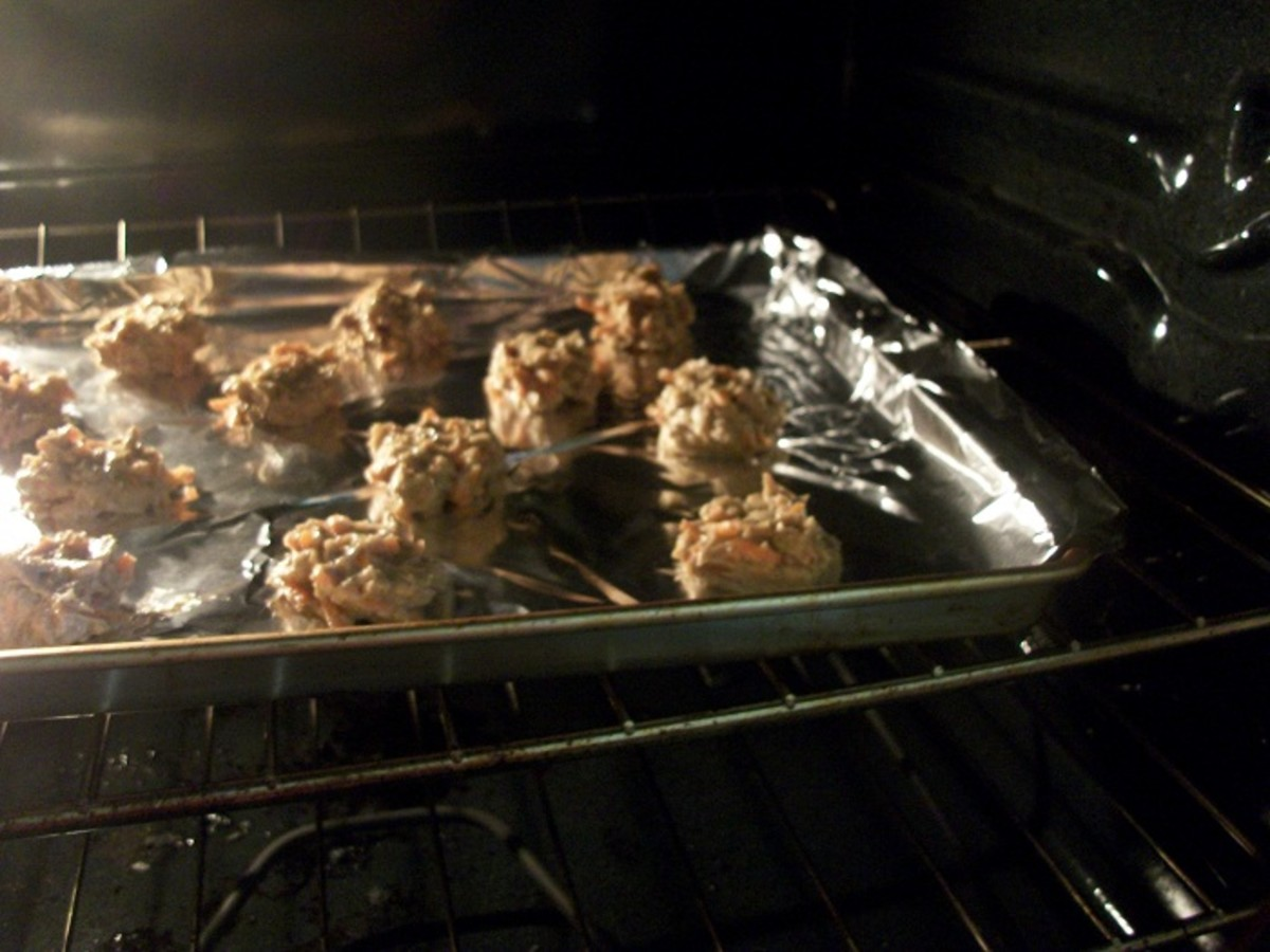 Bake for 10 - 15  minutes.
