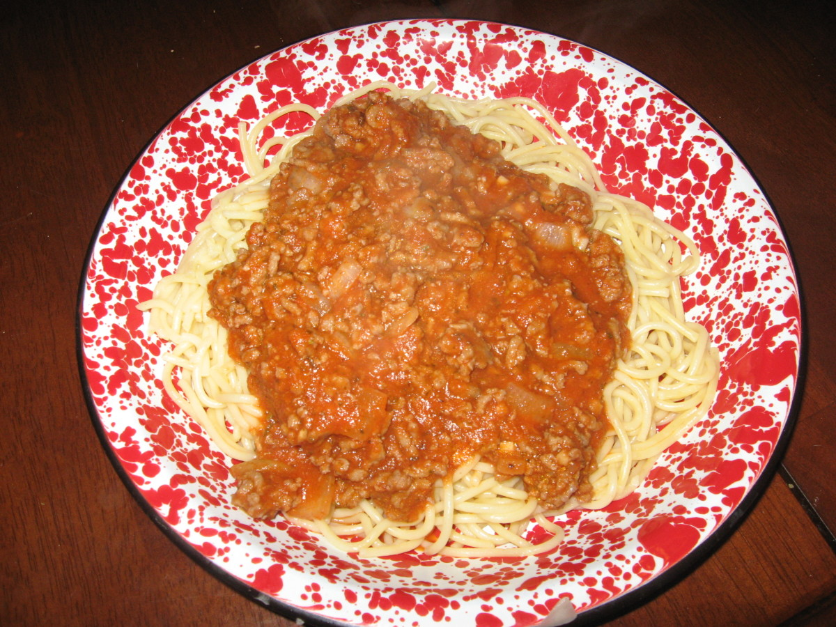 This sloppy joe sauce is also a wonderful low carb spaghetti sauce.