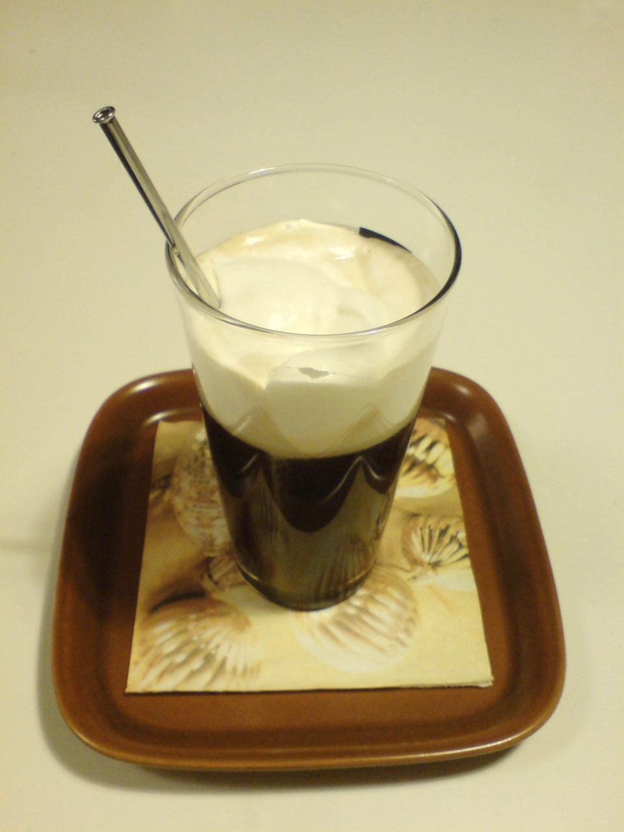 Irish Coffee.  Public Domain Image by Anette B.