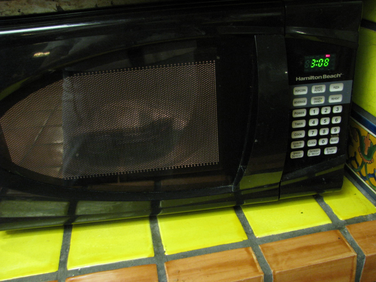 Step 2: Put the green beans in the microwave on high for 4 minutes.
