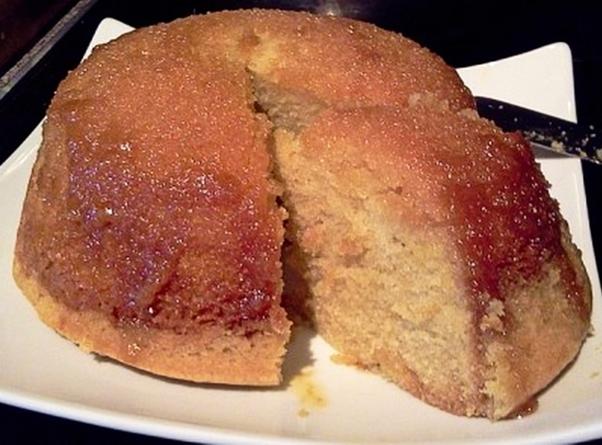 A Slice of Golden Syrup Pudding